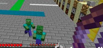 Карта Блоки против Зомби для Minecraft 1.6.2