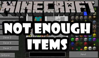 Мод Not Enough Items 1.12.2