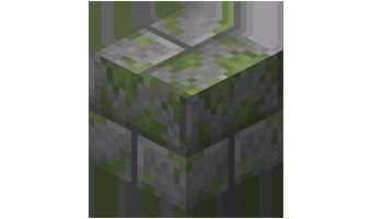 Замшелые каменные кирпичи
