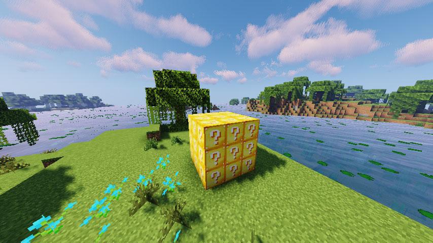 Скриншот Лаки-блоки